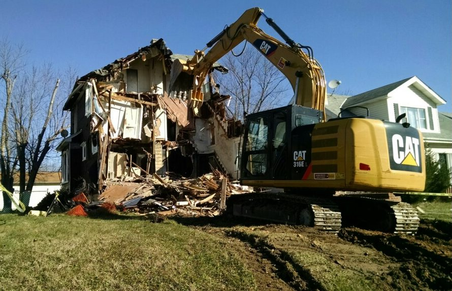 Grid Iron Hill Services - house demolition