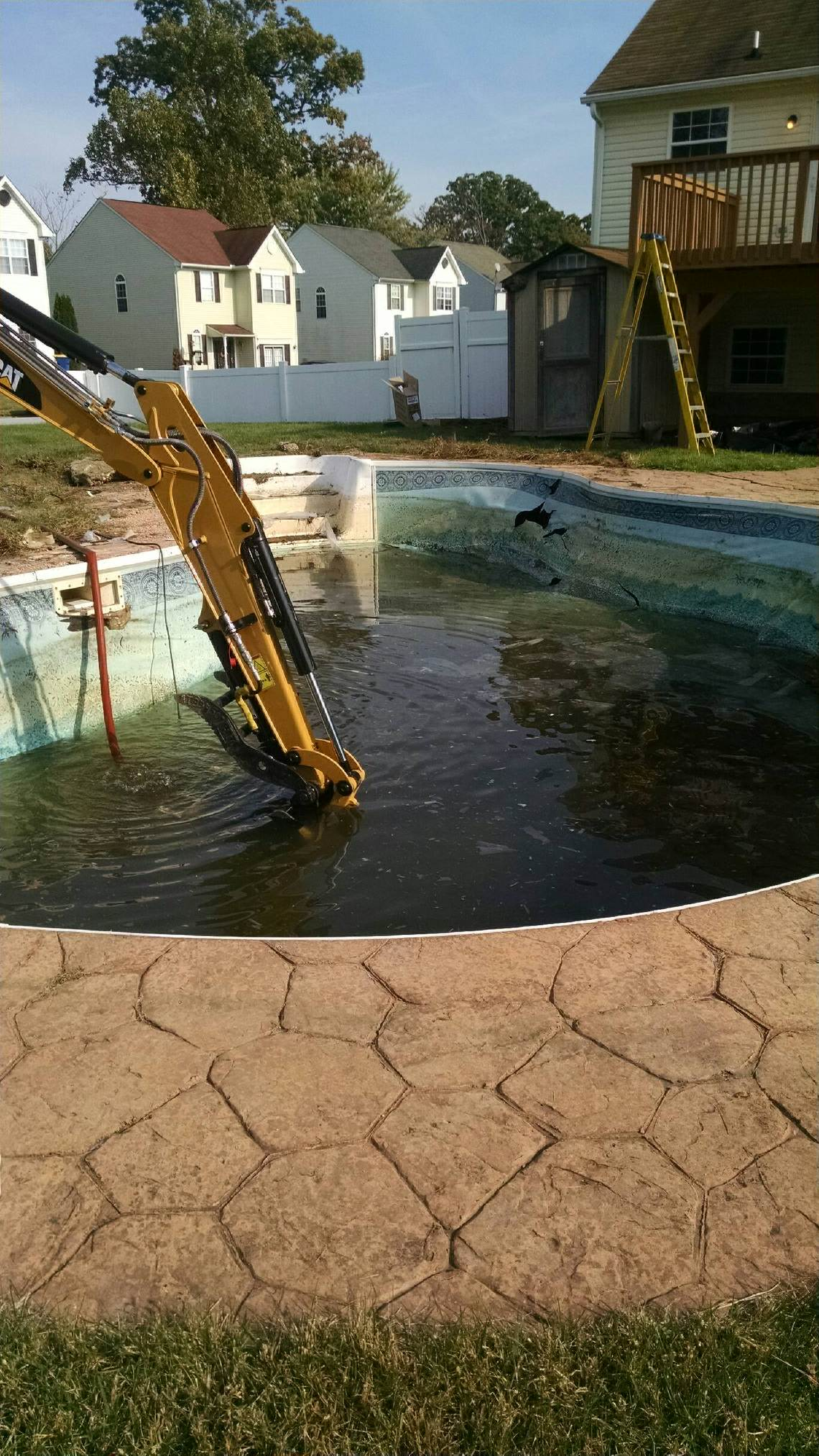 Grid Iron Hill Services - pool removal